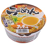 Menraku Miso Ramen, 3.2-Ounce (Pack of 12)