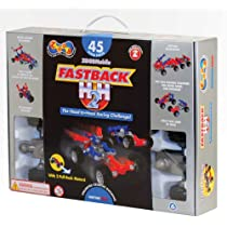 ZOOB 0Z12056 ZOOBMobile Fastback H2H Moving Mind-Building Modeling System, Assorted Colors, 45-Pieces
