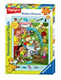 Picture Of <h1>Ravensburger Highlights: Dog Wash &#8211; 35 Pieces Hidden Pictures Puzzle</h1>