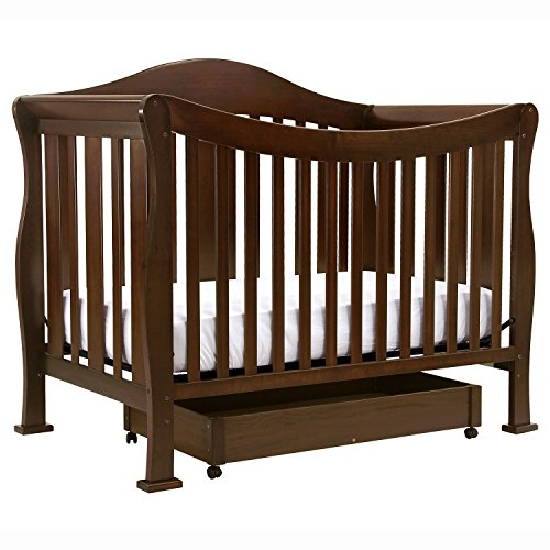 Parker 4-N-1 Convertible Crib - Coffee (2 Pack) front-233077