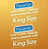 Pasante King Size Condoms x 144