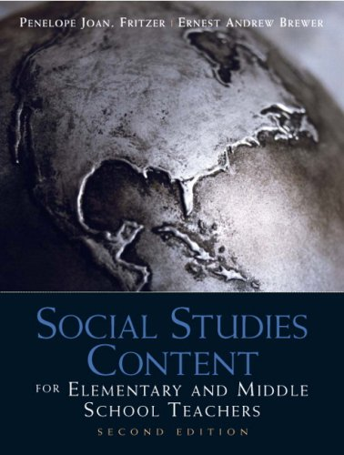 Social Studies Content for Elementary and Middle School...