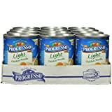 Progresso Light Chicken Noodle Soup, 18.5-Ounce Cans (Pack of 12)