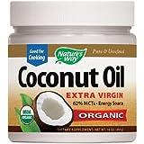Natures Way Efa Gold Coconut Oil, Pure Extra Virgin 16 Oz