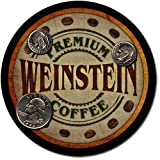Weinstein Family Name Coffee Drink Coasters - 4 Pack