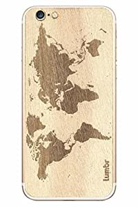 Lumbr Pure Wooden Mobile Skin Stickers for Apple iPhone 6/6s