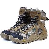 (海派物語)Shanghai Story 迷彩 軍用靴 コンバットブーツ ミリタリーブーツ 登山 ハイキング ジャングルブーツ 通気性 耐磨耗 ブーツ 45