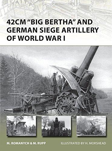 42cm 'Big Bertha' and German Siege Artillery of World War I (New Vanguard)
