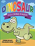Dinosaur Coloring Pages: Jumbo Scary Coloring Book