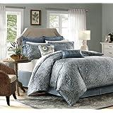 Harbor House Belcourt 4-Piece Comforter Set, California King, Multi-Color