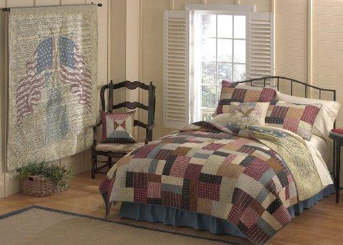 Blanket America Patchwork Heritage Quilt, Full/Queen