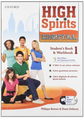 High spirits digital. Student's book-Workbook-Mydigitalbook 2.0. Con espansione online. Per la Scuola media. Con CD-ROM: 1