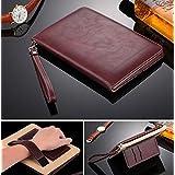 For Apple IPAD 2/3/4 Case [WiNE RED] Business Class ULTRA SLiM Premium Luxury Leather Smart Flip Case Flip Cover...