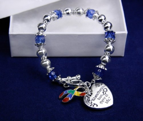 Autism Bracelet - Where There Is Love (18 Bracelets)