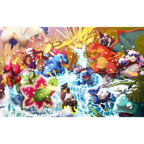 Pokemon-Poster-On-Silk-56cm-x-35cm-22inch-x-14inch-Cartel-de-Seda-E9A447