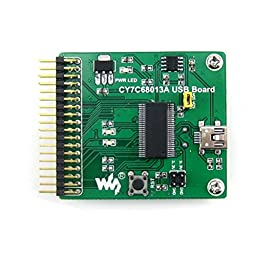 Foxnovo CY7C68013A USB Board (mini) EZ-USB FX2LP USB Converter Evaluation Development Module (Green)