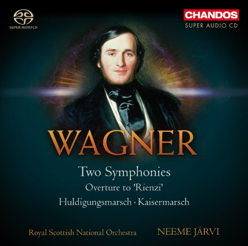 SACD : WAGNER / ROYAL SCOTTISH NATIONAL ORCH / JARVI - Two Symphonies & Overture To Rienzi