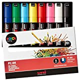 Uni-posca Pc8k8c Paint Marker Pen Bold Point Set of 8 (japan import)