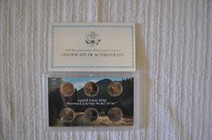 2005 U. S. Mint Westward Journey Nickel Series Coin Set in Original Box with COA