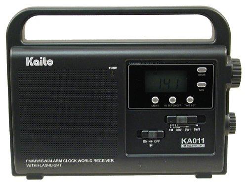 Kaito Emergency Radio with LED Flashlight, KA011