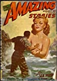 Amazing Stories, August 1946, Featuring Shavers *The Sea People* (Vol. 20, no. 5)