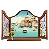 Tonsee® Fenêtre 3D Mirkwood Voir amovible Wall Sticker Decal décor mural...
