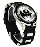 Batman Mens BAT9062 Black Rubber Strap Analog Watch