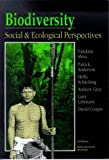 Biodiversity: Social and Ecological Perspectives (1856490548) by Shiva, Vandana