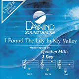 I Found The Lily In My Valley [Accompaniment/Performance Track]