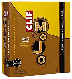 Clif Mojo Sweet & Salty Trail Mix Bar - Peanut Butter Pretzel - 1.59 oz - 12 ct