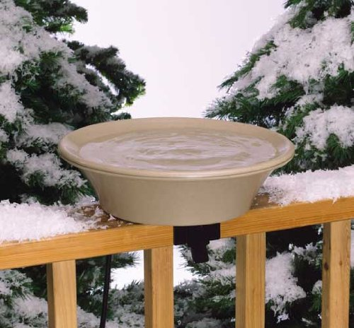 Allied Precision 14 in. Heated Bird Bath  EZ-Tilt