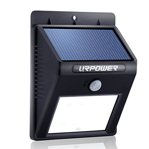 Solar Light Urpower 174 Solar Sensor Light Patio Deck Yard