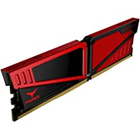 Team T-Force Vulcan 16GB PC3-19200 2400MHz DDR4 288-Pin DIMM Desktop Memory (TLRED416G2400HC15B01)