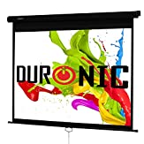 Duronic MPS80/43 Manual Pull Down HD Projector Screen - 80