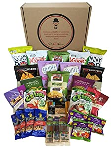 Gluten Free and Vegan Healthy Snacks Care Package by The Good Grocer (27 Count)