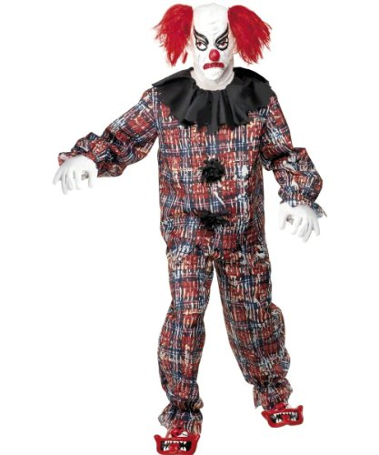 Smiffys Men's Scary Clown Costume