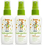 Babyganics Natural Insect Repellent, 2 oz, Pack of 3