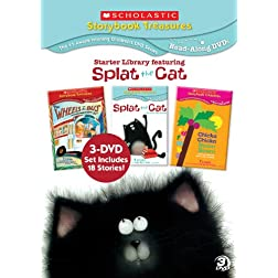 Scholastic Storybook Treasures Starter Library Featuring Splat the Cat