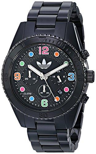 Adidas ADH2946 43 mm Caja de resina de color negro para la protección de la resina de los hombres y el reloj de las mujeres