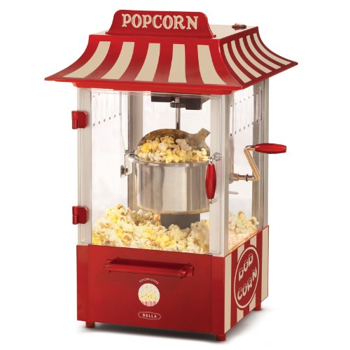 Bella 13566 Theatre Popcorn Maker, Red And White