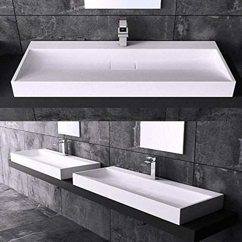 """Mai&Mai Design Waschbecken """"Colossum19"""", Gussmarmor"""