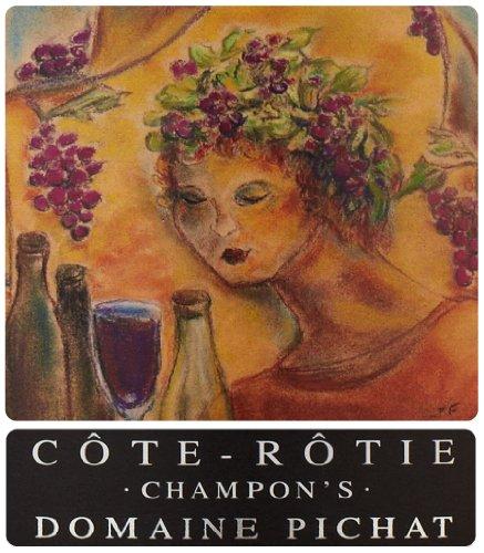 "2010 Domaine Pichat ""Champon'S,"" Cote-Rotie 750 Ml"