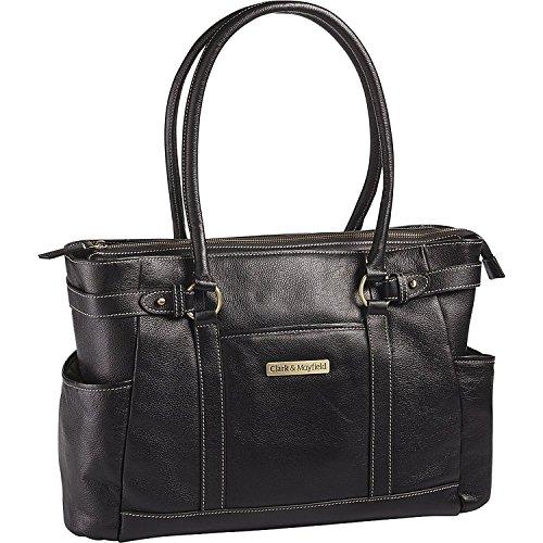 clark-mayfield-hawthorne-leather-173-laptop-handbag-computer-tote-bag-in-black