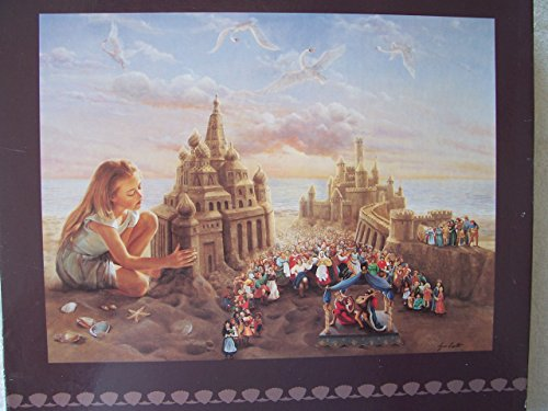"The Innocent Architect 750 Piece Puzzle 24"" X 18"" Lynn Lupetti"