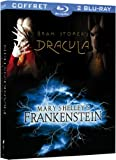 echange, troc Coffret Horreur 2 Blu-ray : Dracula / Frankenstein [Blu-ray]