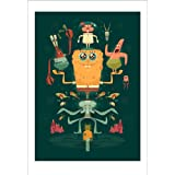 SpongeBob: Bubble Buddy Art Print