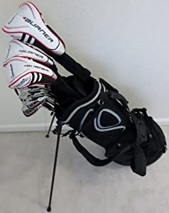 TaylorMade Mens Complete Golf Club Set Driver, Fairway Wood, Hybrid, Irons, Putter,... by TaylorMade