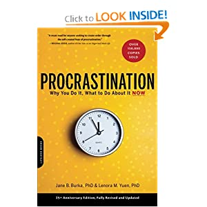 Downloads Procrastination: Why You Do It, What to Do About It Now e-book