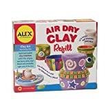 ALEX® Toys - Young Artist Studio Air Dry Clay Refill Pack 168R by Alex Toys