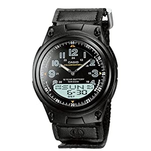 Casio AW-80V-1BVEF Illuminator Combi Watch